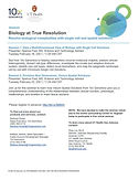 Biology at True Resolution - Session 1: Gain a Multidimensional View of Biology with Single-Cell Solutions