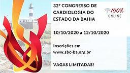 32º Congresso de Cardiologia do Estado da Bahia - Sala ADRIANO PONDÉ