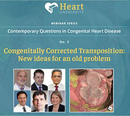 Contemporary Questions in Congenital Heart Disease - Congenitally Corrected Transposition: New ideas for an old problem