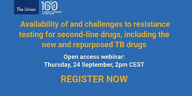 Availability of and challenges to resistance testing for second-line drugs, including the new and repurposed TB drugs