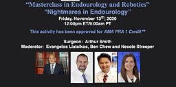 Masterclass in Endourology and Robotics - Nightmares in Endourology