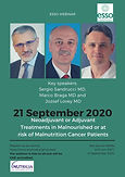 Neoadjuvant or Adjuvant Treatments in Malnourished or at risk of Malnutrition Cancer Patients