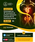 Homenagem ao 30º Aniversário do primeiro tratamento endovascular do Aneurisma da Aorta