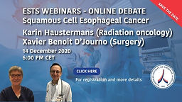 Squamous Cell Esophageal Cancer - Definitive chemoradiation vs Surgical Resection for Squamous Cell Esophageal Cancer