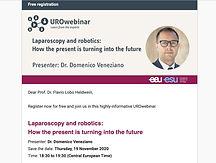 Laparoscopy and Robotics: how present is turning into future