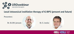 Local intravesical instillation therapy of IC/BPS (present and future)