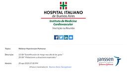 Webinar Hipertensión Pulmonar
