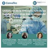 Utilización de la TPN en la cura de las heridas quirúrgicas tras la cirugía del cáncer de mama