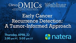 Early Cancer Recurrence Detection: A Tumor-Informed Approach