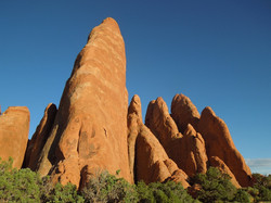 Outside of Sand Dune Arch