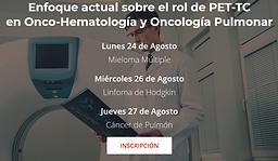 Enfoque actual sobre el rol de PET-TC en Onco-Hematología y Oncología Pulmonar