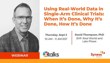 Using Real-World Data in Single-Arm Clinical Trials: When It's Done, Why It's Done, How It's Done