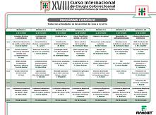 XVIII Curso Internacional de Cirugía Colorrectoanal del Hospital Italiano de Buenos Aires