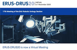 Virtual ERUS-DRUS20 - 17th Meeting of the EAU Robotic Urology Section - Virtual room 3
