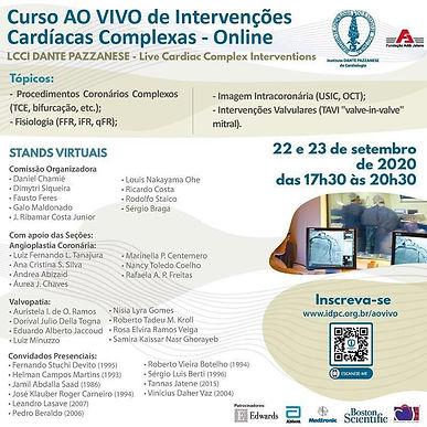 Curso AO VIVO de Intervenções Cardíacas Complexas - Online