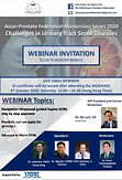 Asian Prostate Federation Masterclass Series 2020 – Challenges in Urinary Tract Stone Diseases