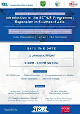 Introduction of the SET-UP Programme: Expansion in Southeast Asia