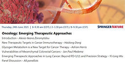 Oncology: Emerging Therapeutic Approaches
