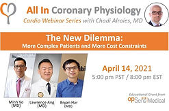 The New Dilemma : More Complex Patients and More Cost Constraints
