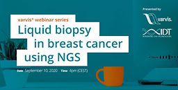 Liquid biopsy in breast cancer using NGS