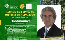 Reunião do Serviço de Urologia do HCPA 2020