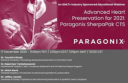 Advanced Heart Preservation for 2021: Paragonix SherpaPak CTS