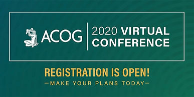 ACOG 2020 Virtual Conference: Educate and Engage