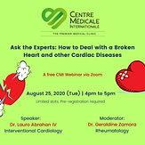 Ask the Experts: How to Deal with a Broken Heart and other Cardiac Diseases
