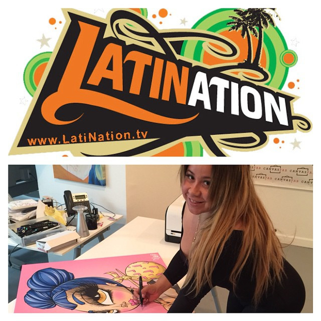 Instagram - Me Tomorrow on Latin Nation TV  LATime: Sunday 12pm Chanel 9  To fin