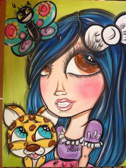 Little Girl Art