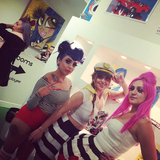 Instagram - Come meet Stacks, Captain Bermuda and Vampy! Tonight at Pop Boutique