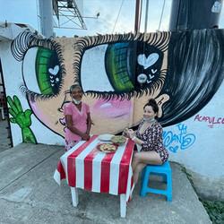 Sand oNE Street Art mURAL