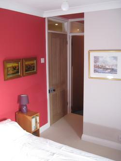 West end front bedroom ensuite door