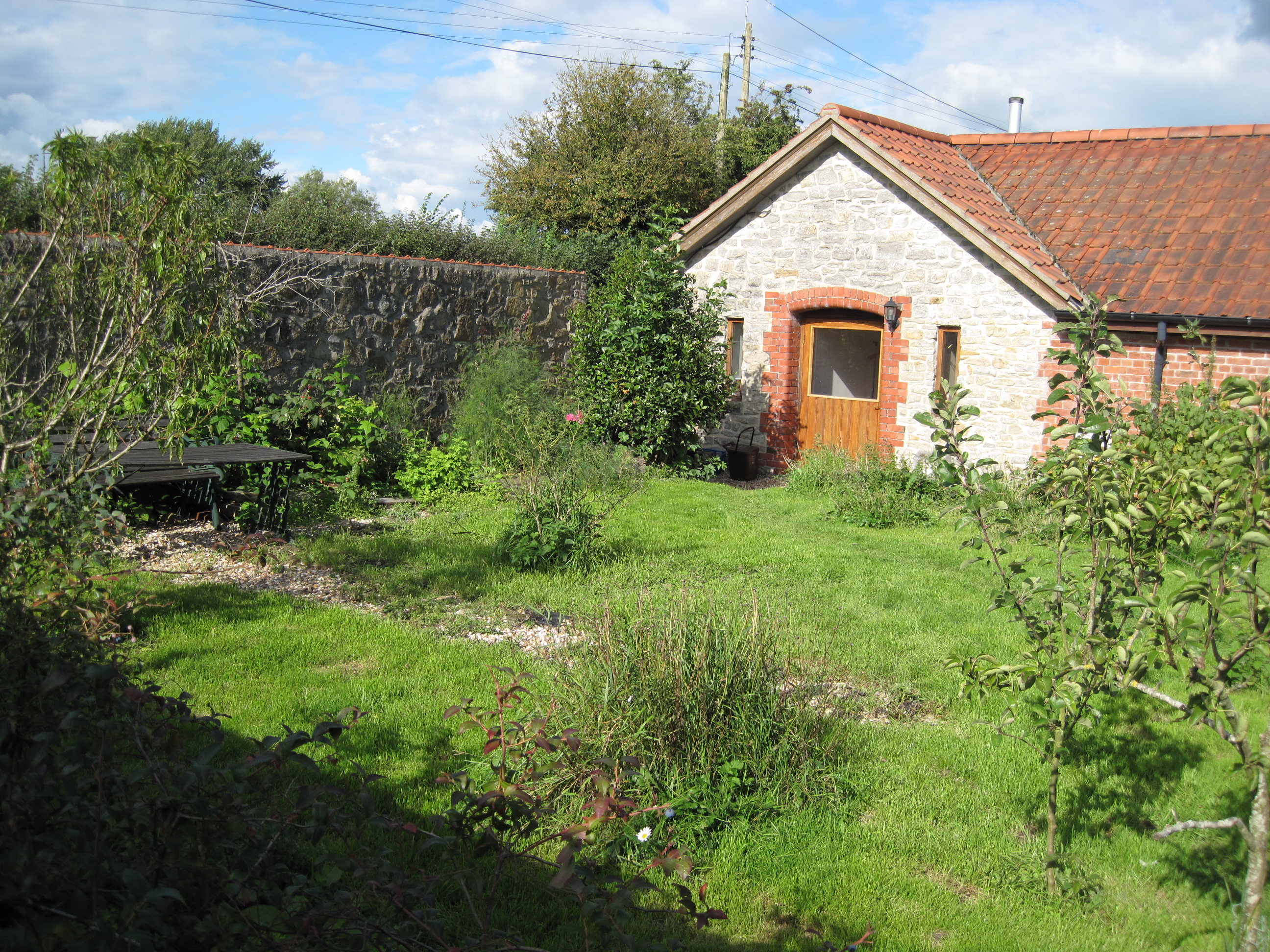 Westbrook Barn Old Fruit Garden