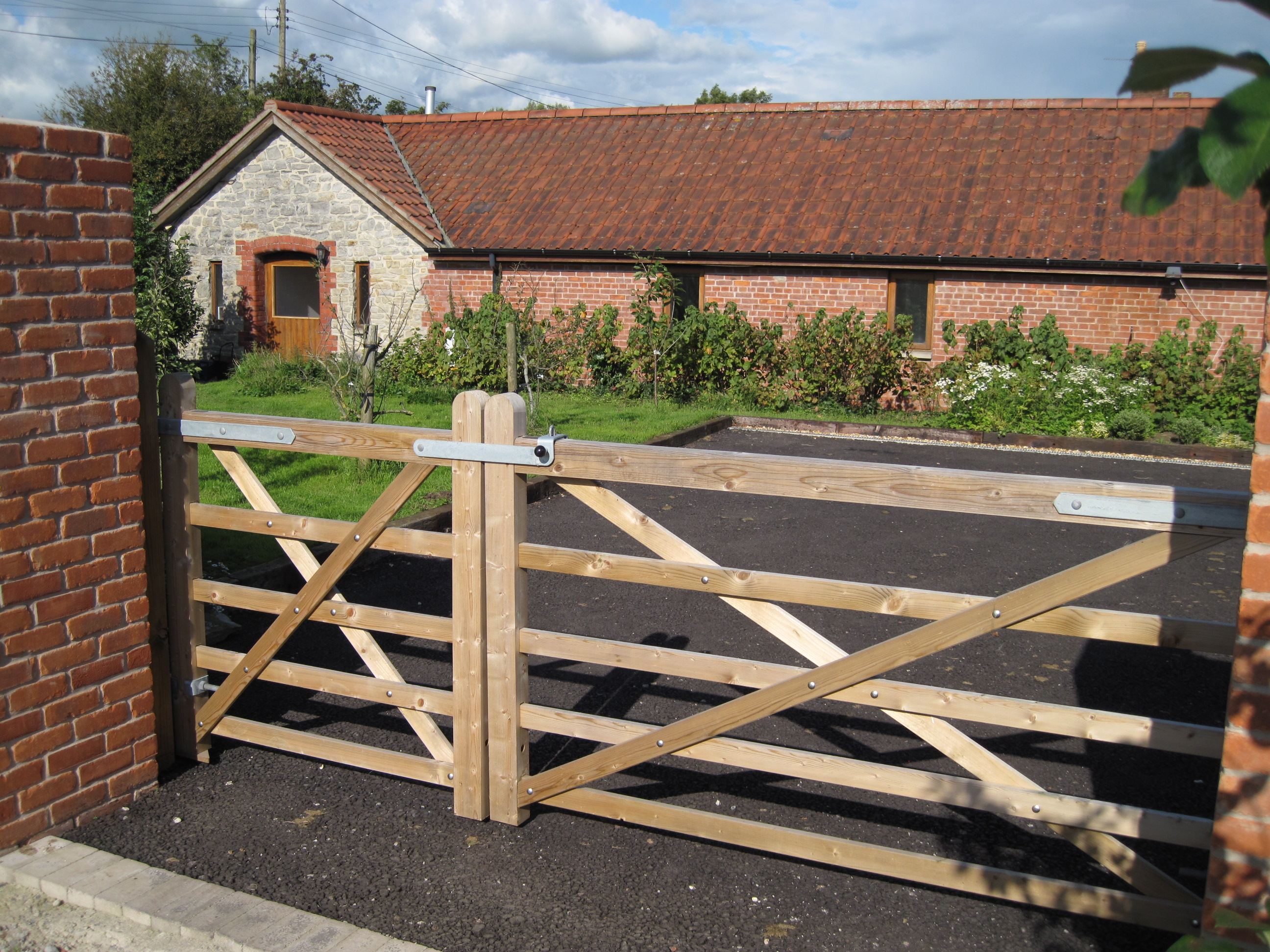 Westbrook Barn entrance