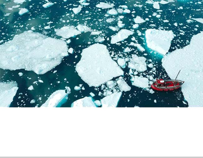 Climate change- Greenland's ice faces me
