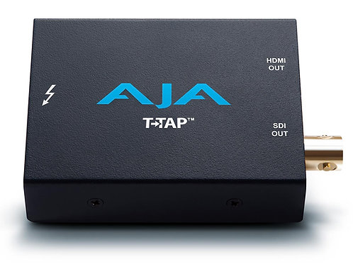 AJA T-TAP Thunderbolt™ powered SDI and HDMI output