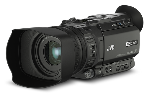 JVC GY-HM170U 4K Camcorder (12X Lens)