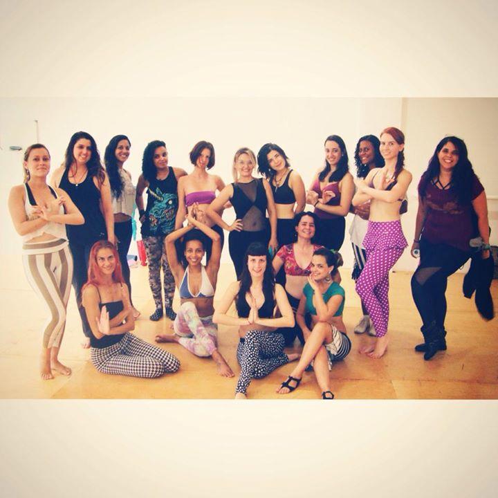 Curso de Formação em Dança Tribal com Joline Andrade_Totally BadAss!!! _3__Essa galerinha ontem trab