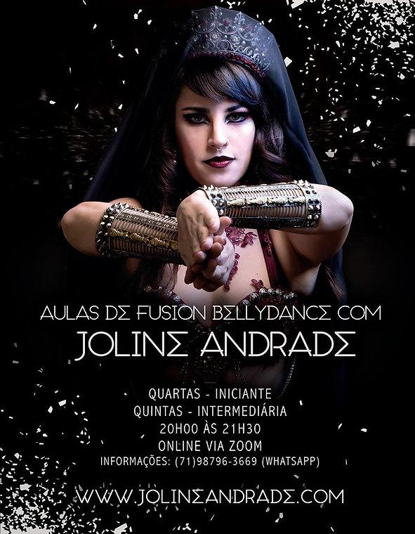 Aulas de Dança do Ventre de Fusão Tribal com Joline Andrade