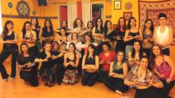 Dia lindo! Dia iluminado!__Primeiro encontro do Curso de Formação em Dança Tribal em São Paulo-SP (V