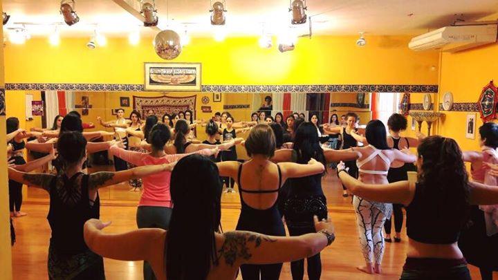 Curso de Formação em Dança Tribal em São Paulo-SP _ VI Edição _10 de julho de 2016_Shangrila House