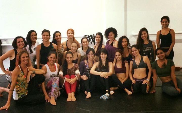Dia maravilhoso na companhia de um grupo de mulheres incríveis