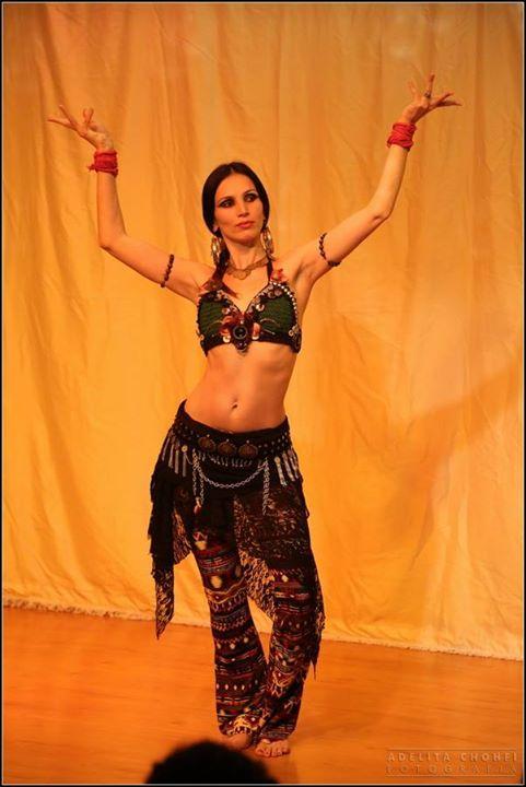 Facebook - Festa de Encerramento do Curso de Formação em Dança Tribal com Joline Andrade em São Paul