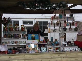 Tithe Barn Christmas Market