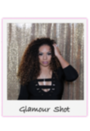 Glamour shot photo booth