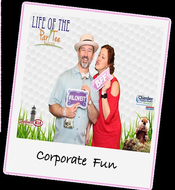 Corporate Fun Photo booth