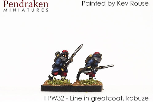 French Army 1870 - Winter (10mm)