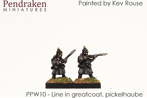 Prussian Army 1860-70 (Winter) (10mm)