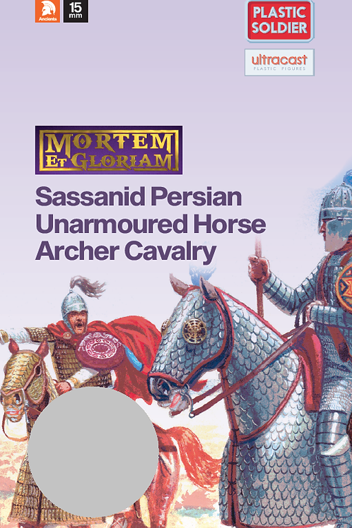 15mm Sassanid Unarmoured Horse Archer Booster Pack